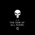 The sum of all fears. Q by Mark Salmon