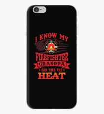 My Firefighter Grandpa Can Take The Heat Shirt Gear iPhone Case