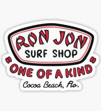 RJ Surf Shop Cocoa Beach Sticker