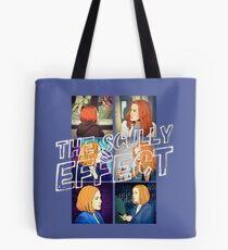 X files the Scully Effect by Mimie Tote Bag