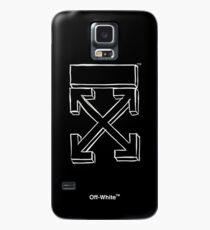 Off-White Marker Arrows (Dark) Case/Skin for Samsung Galaxy