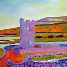 Burren Tower, Clare, Ireland by eolai