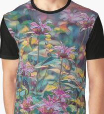 Abstract Thistle Graphic T-Shirt