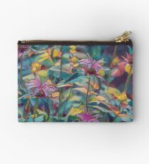 Abstract Thistle Studio Pouch