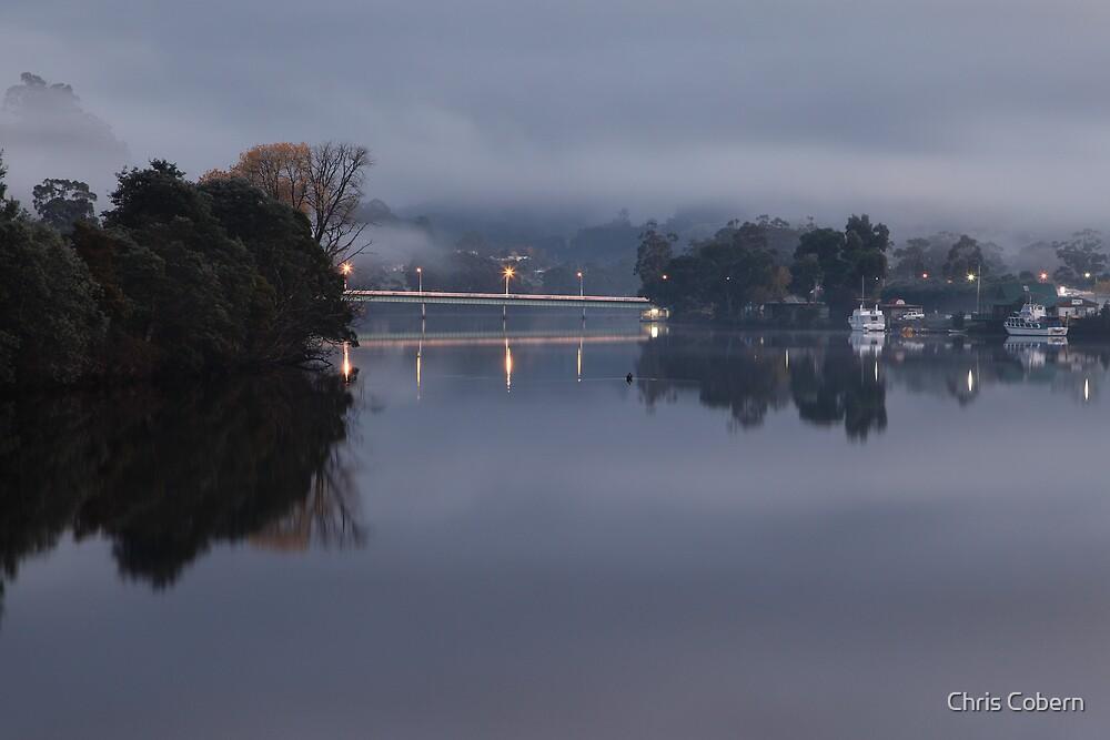 Huonville Bridge by Chris Cobern