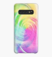 Abstract light colorful dynamic energy Case/Skin for Samsung Galaxy