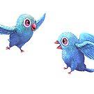 Happy Birds by Tom Godfrey