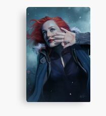 Scully individual poster n°3  (update) Canvas Print