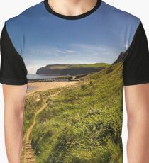 Down to the beach Graphic T-Shirt