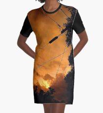 Illusion Of Control  Graphic T-Shirt Dress