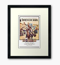 Lawrence Of Arabia 1962 Peter O'Toole Framed Print