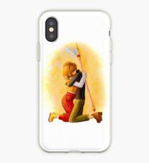 Sakura and Syaoran iPhone Case