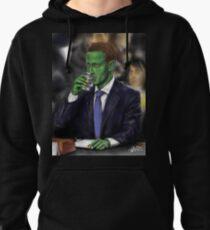 Reptilian Mark Zuckerberg Pullover Hoodie