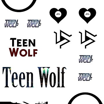Teen Wolf - sticker set A by RMBlanik