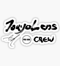 Limited Edition - Tokyo Lens Pre-50k Crew Sticker