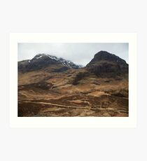 Scottish Highlands Art Print