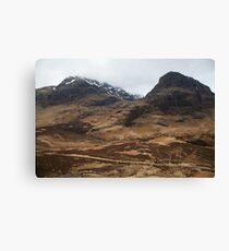 Scottish Highlands Canvas Print