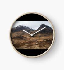 Scottish Highlands Clock