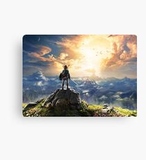 Legend of Zelda : Breath of the Wild Art Canvas Print
