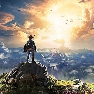 Legend of Zelda : Breath of the Wild Art by CraigUK37