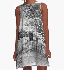 nikola testa lightning A-Line Dress