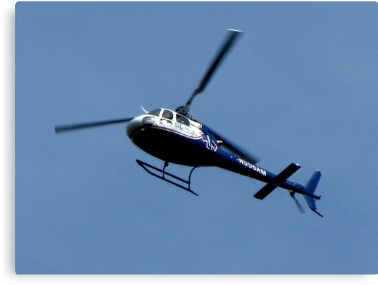 Life Flights  AS 350 (A-Star) Helicopter by Chuck Gardner
