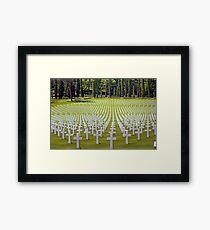 In Memory Of Framed Print