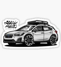 Subaru Crosstrek 2018 Sticker