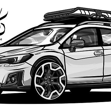 Subaru Crosstrek 2018 by SprayPatrick