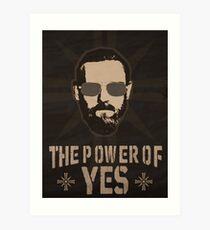 "John Seed ""Yes"" Art Print"