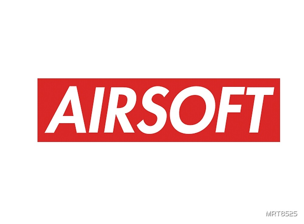 AIRSOFT RED Banner sticker by MRT8525