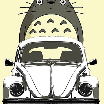 Totoro ride Volks by benbdprod