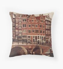 Amsterdam - Oud Mokum Throw Pillow