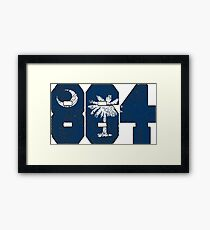 ALWAYS REPPIN'T HE 864 Framed Print