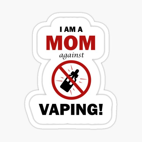 Moms against Vaping Sticker