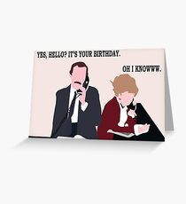 Fawlty Towers Birthday Card Greeting Card