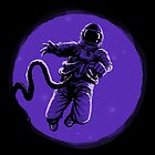 Floating Astronaut by carbine