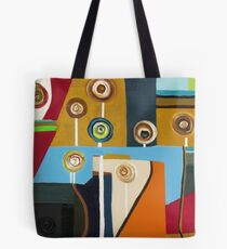 Flower Band Tote Bag
