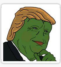 Donald Trump Pepe Sticker