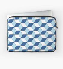 Cubes bleus Housse de laptop