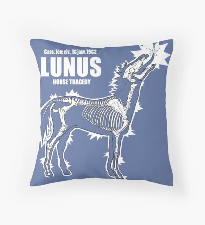 LUNUS , horse tragedy Coussin
