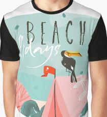 Beach Holidays Graphic T-Shirt