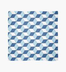 Cubes bleus Foulard