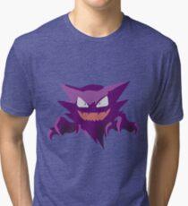 Haunter Pokemon Simple No Borders Tri-blend T-Shirt