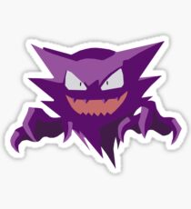 Haunter Pokemon Simple No Borders Sticker