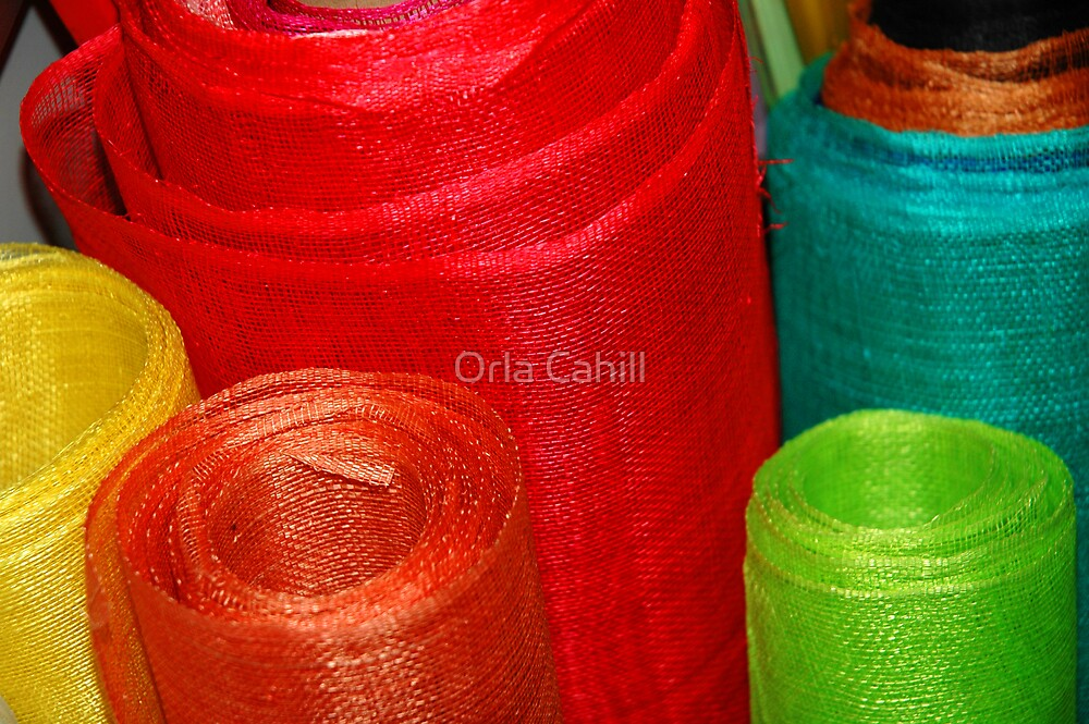 Rolls of Colour by Orla Cahill