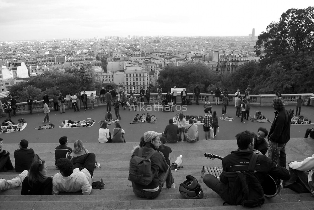 Paris view by mkatharos