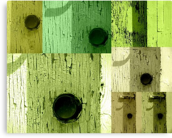 The Green Doors by francelal