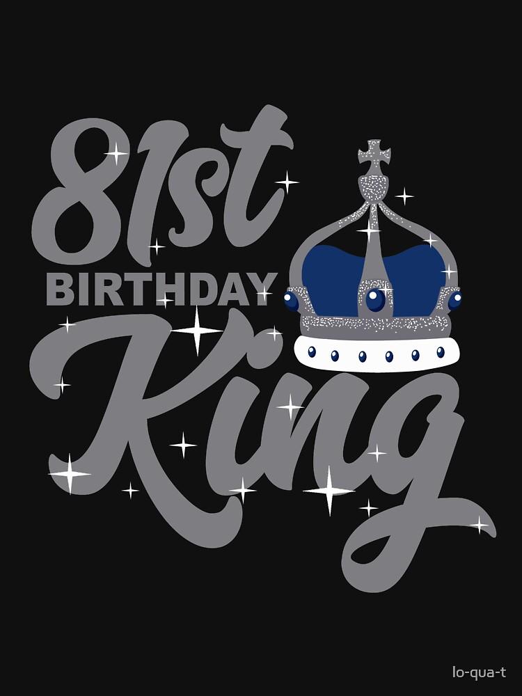 Birthday King 81 by lo-qua-t