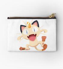 Meowth Pokemon Simple No Borders Studio Pouch